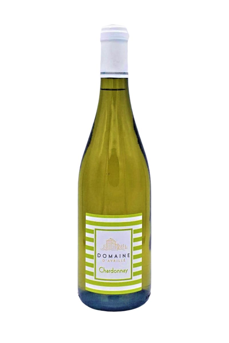 Chardonnay; Château d'Avrillé; vin de Loire; vin blanc; vin blanc sec; sec