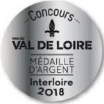 Médaille Argent 2018 Interloire